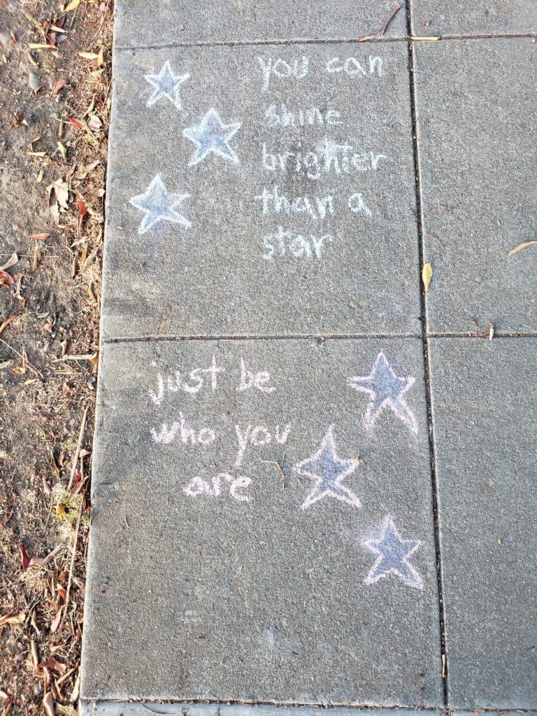 You can shine brighter than a star just be who you are